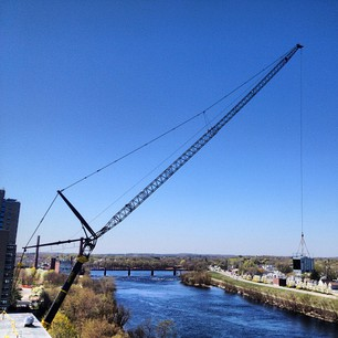 Learn about exciting news regarding construction cranes.