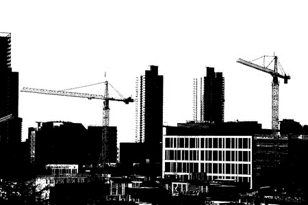 high rise construction cranes
