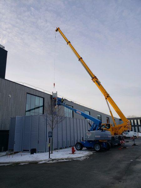 50 Ton Liebherr Crane