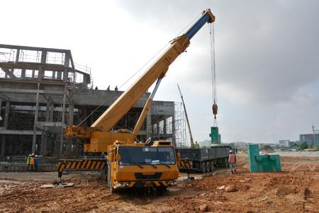 Renting Mobile Cranes